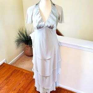 Patra-Flutter Tiered Gown